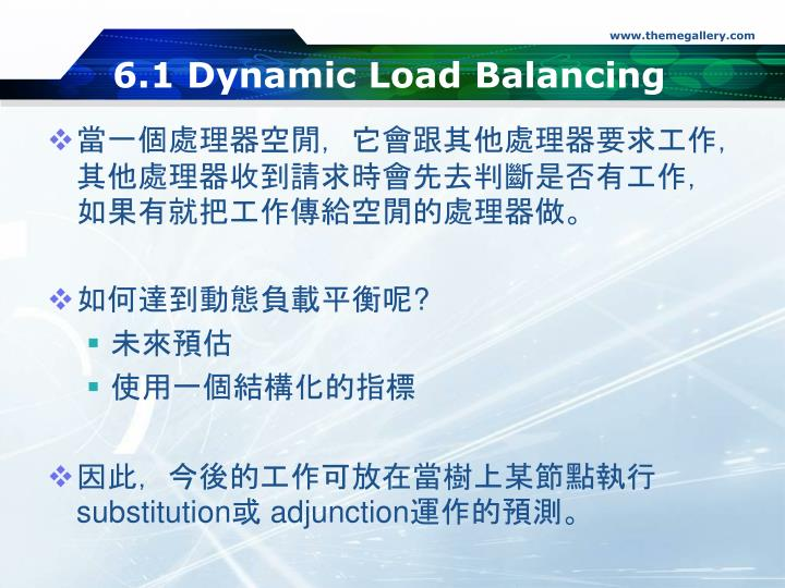 6.1 Dynamic Load