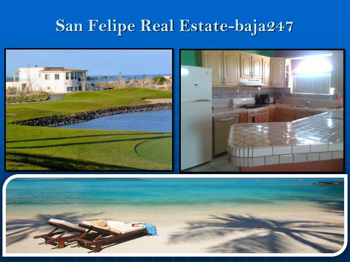 San felipe real estate baja247