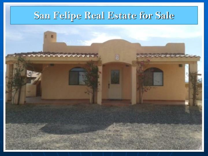 San Felipe Real Estate for Sale