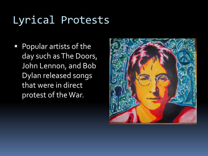 Lyrical Protests