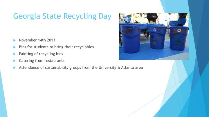 Georgia State Recycling Day