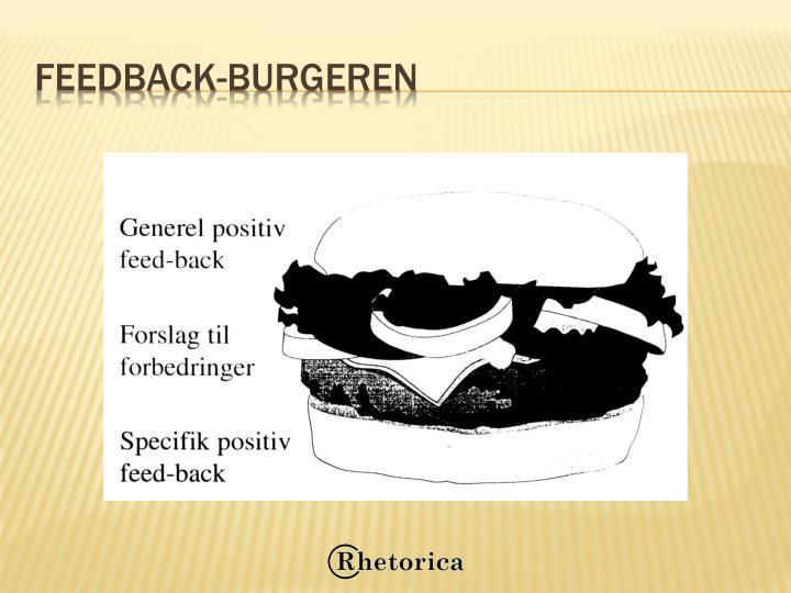 Feedback-burgeren