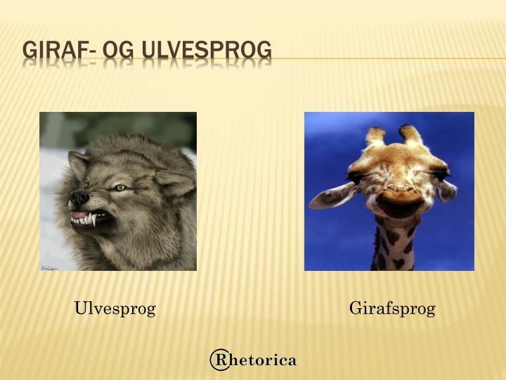 Giraf- og