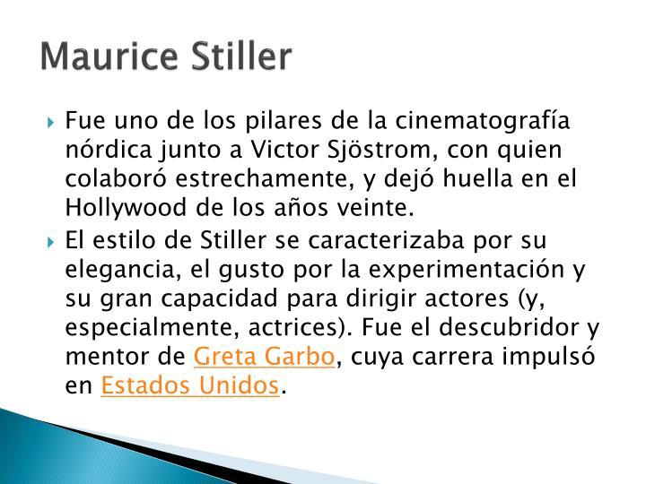 Maurice Stiller