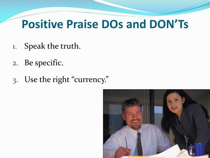 Positive Praise