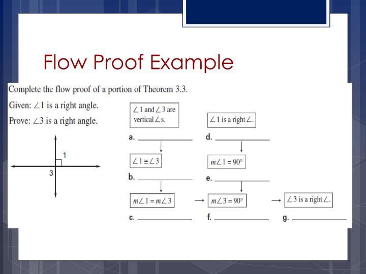 Flow Proof Example