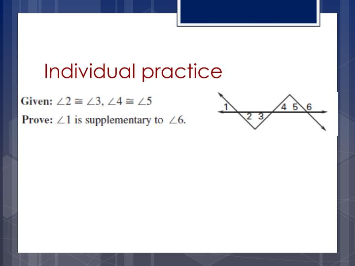 Individual practice