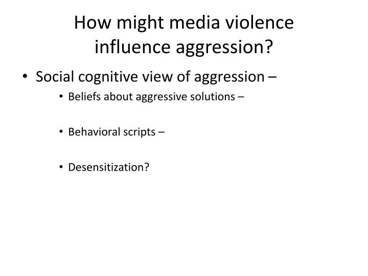 How might media violence