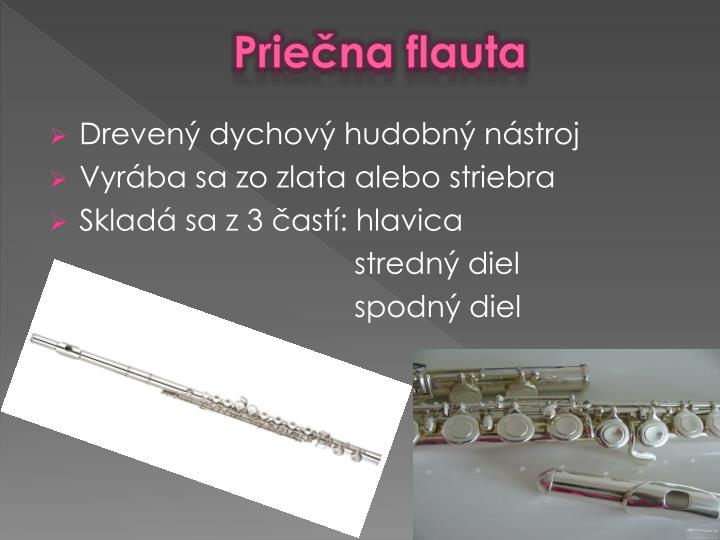 Priečna flauta