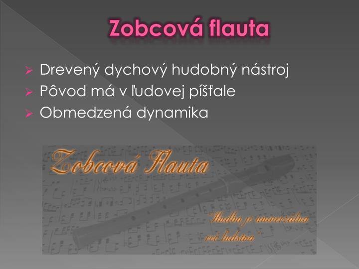 Zobcová