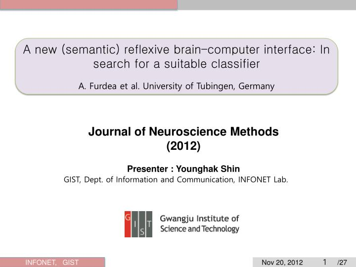 A new (semantic) reflexive brain–computer interface: In search for a