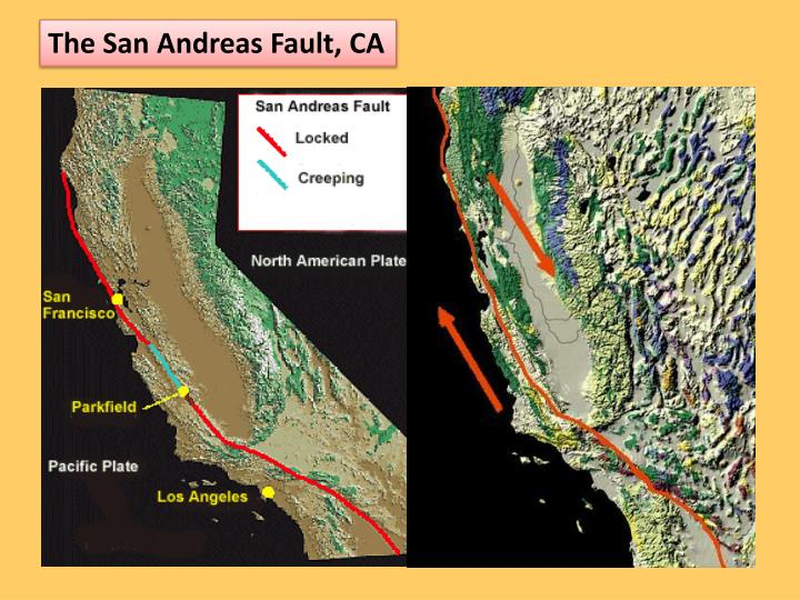 The San Andreas Fault, CA