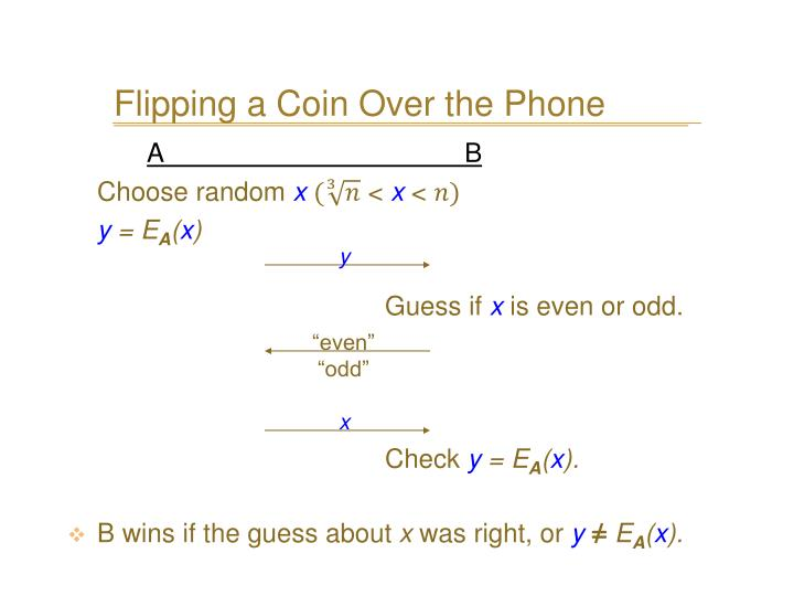 Flipping a Coin Over the Phone