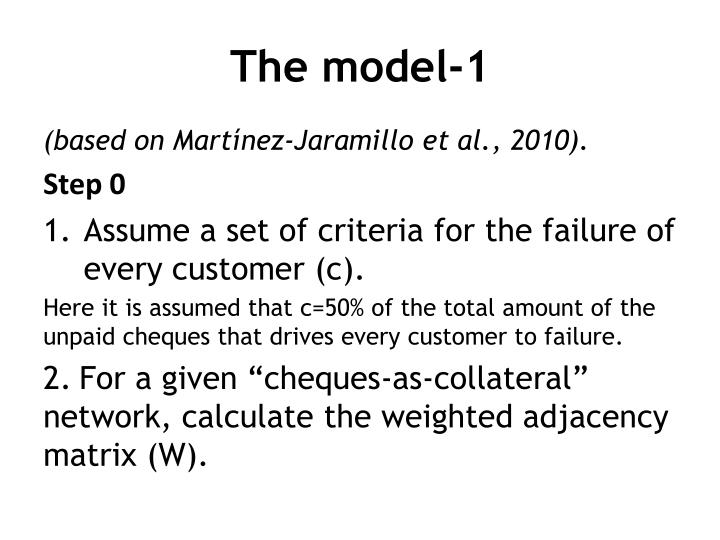 The model-1