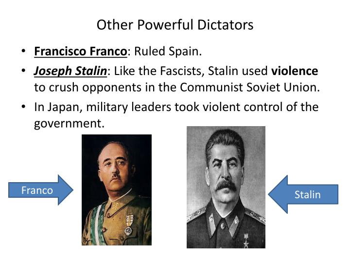 Other Powerful Dictators