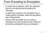 from encoding to encryption6