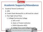 academic supports attendance1