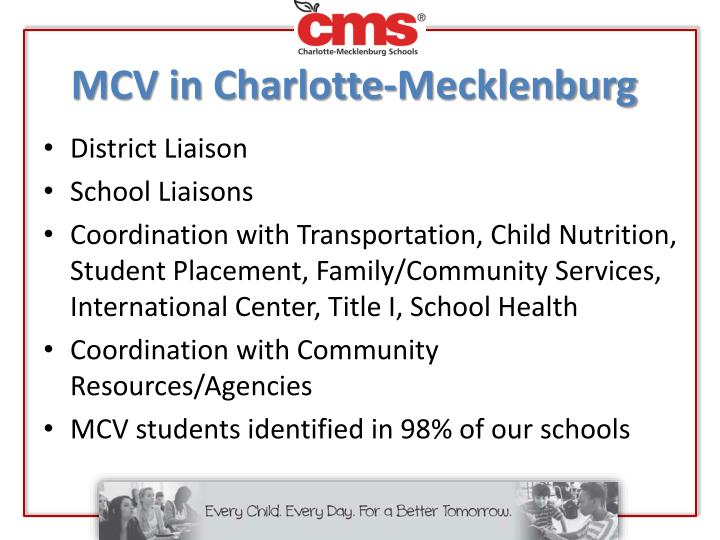 MCV in Charlotte-Mecklenburg