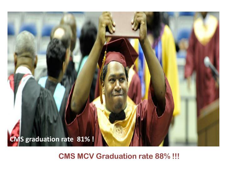 CMS graduation