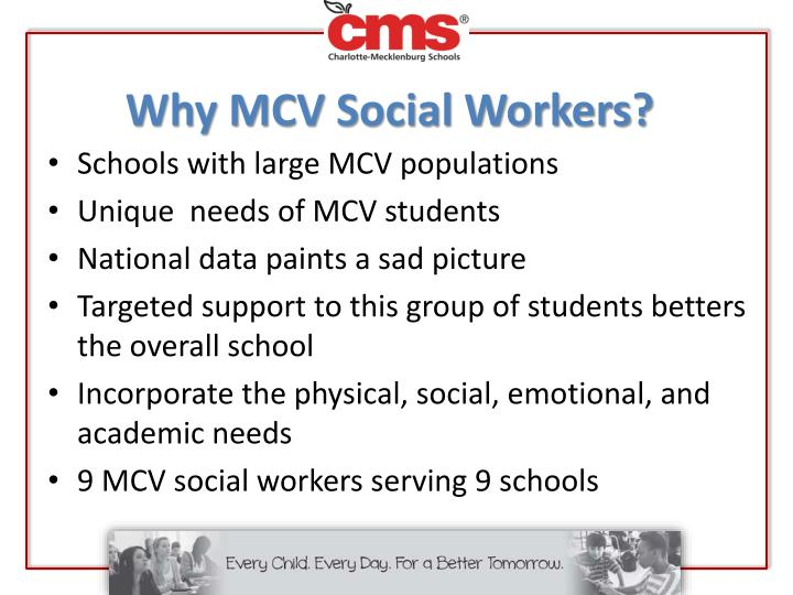 Why MCV Social Workers?