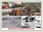 reflections on disasters and demons