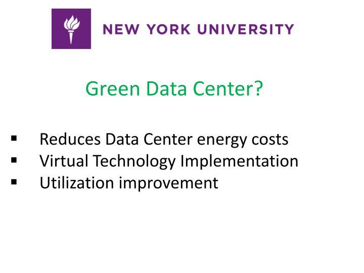 Green Data Center?