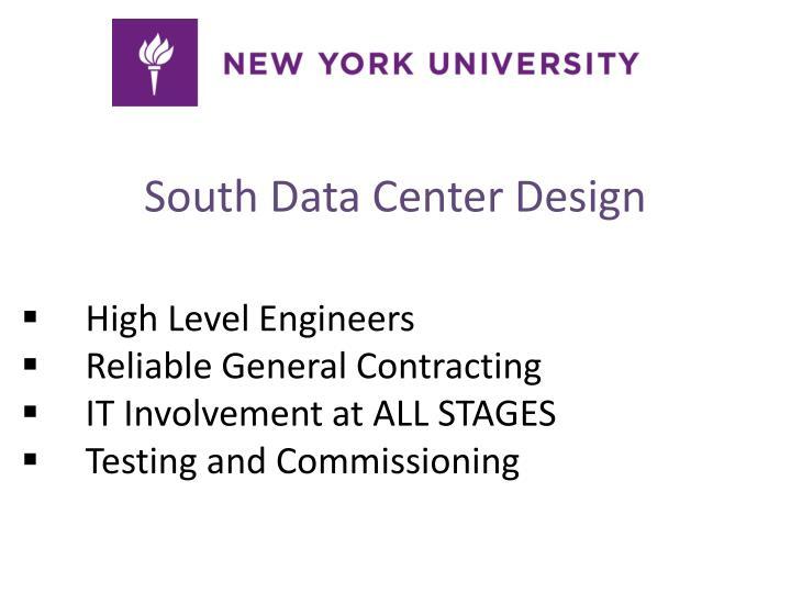 South Data Center Design