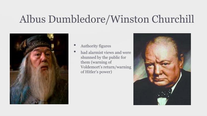 Albus Dumbledore/Winston Churchill