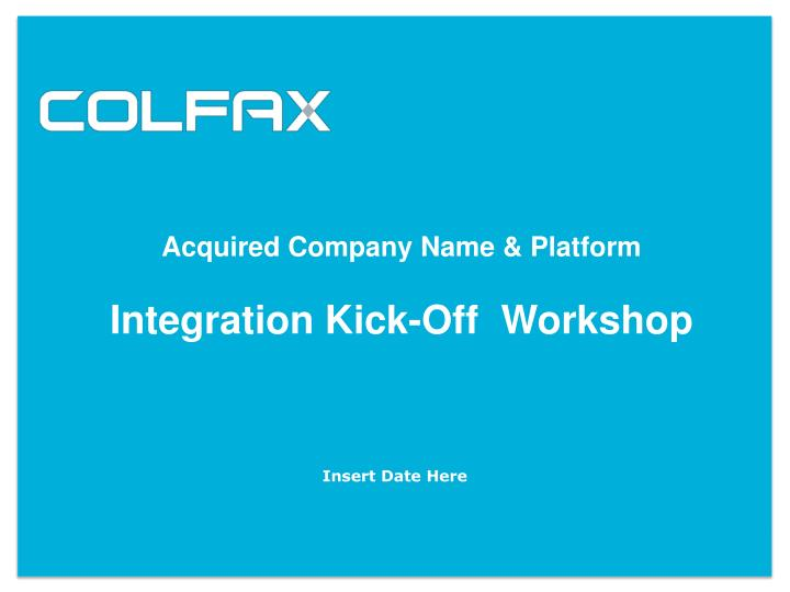 Acquired Company Name & Platform