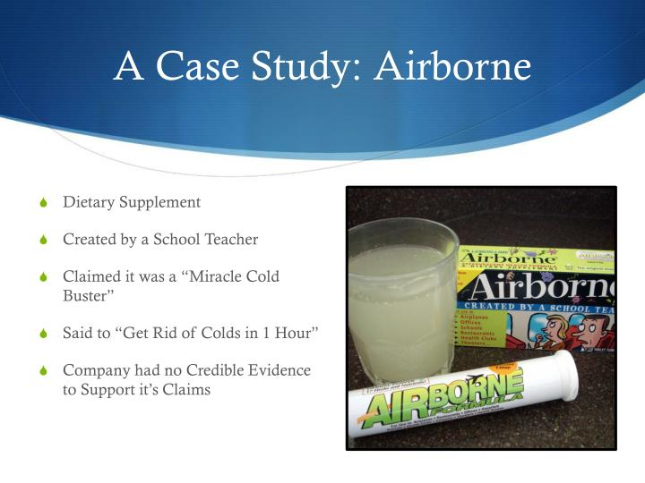 A Case Study: Airborne