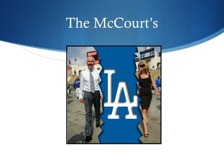 The McCourt's