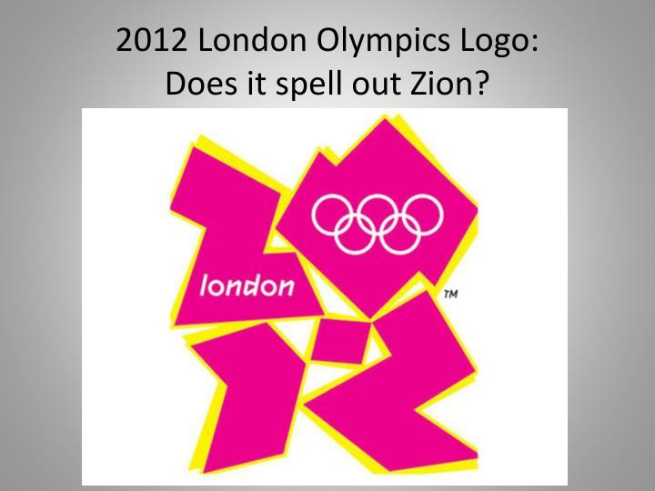 2012 London Olympics Logo:
