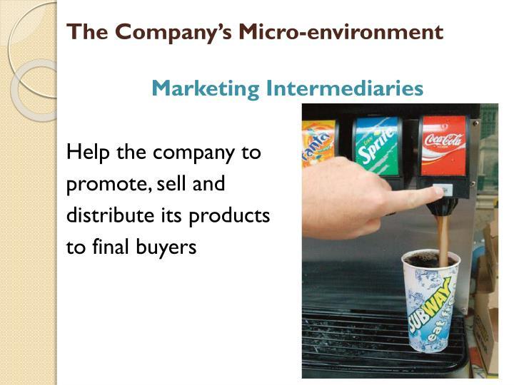 The Company's Micro-environment