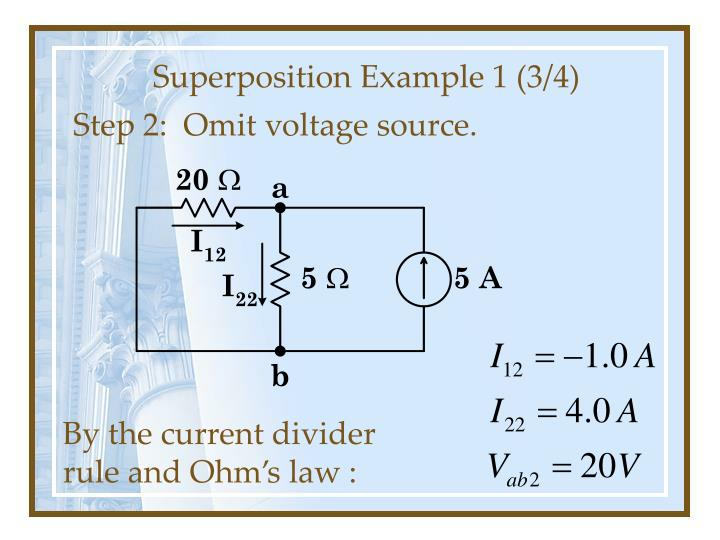 Superposition Example 1 (3/4)