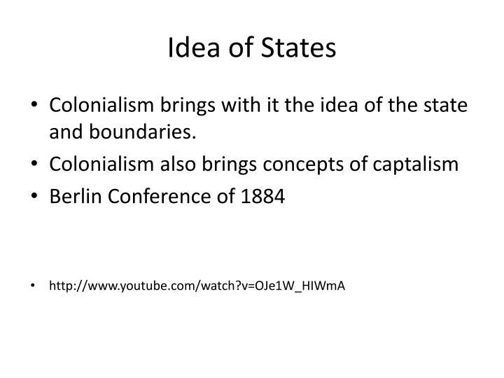 Idea of States