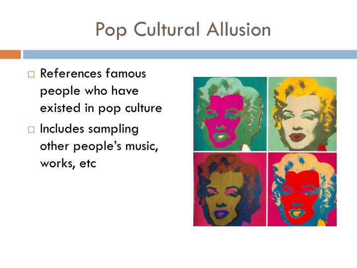 Pop Cultural Allusion
