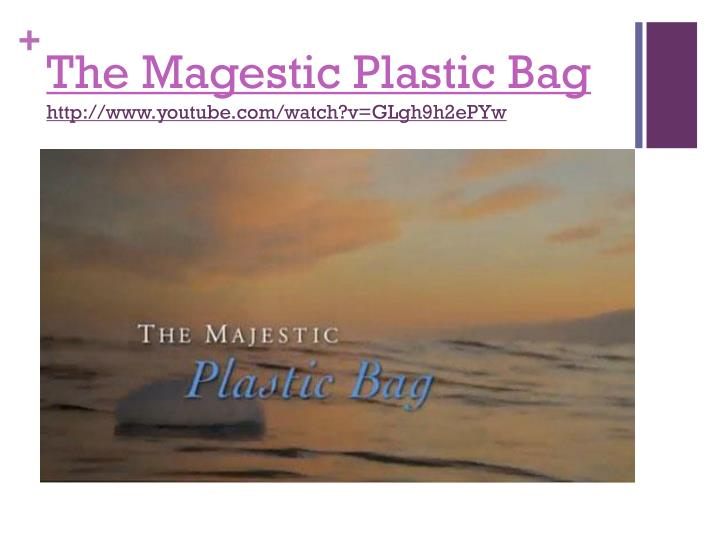 The Magestic Plastic Bag