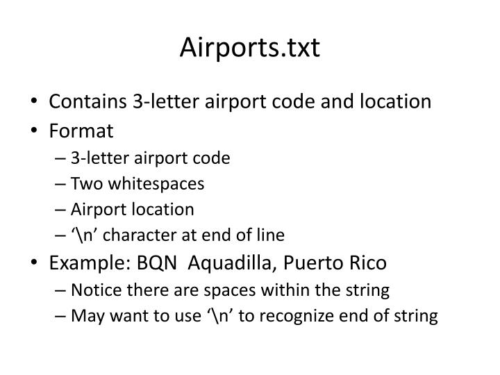 Airports.txt