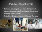 investors should invest