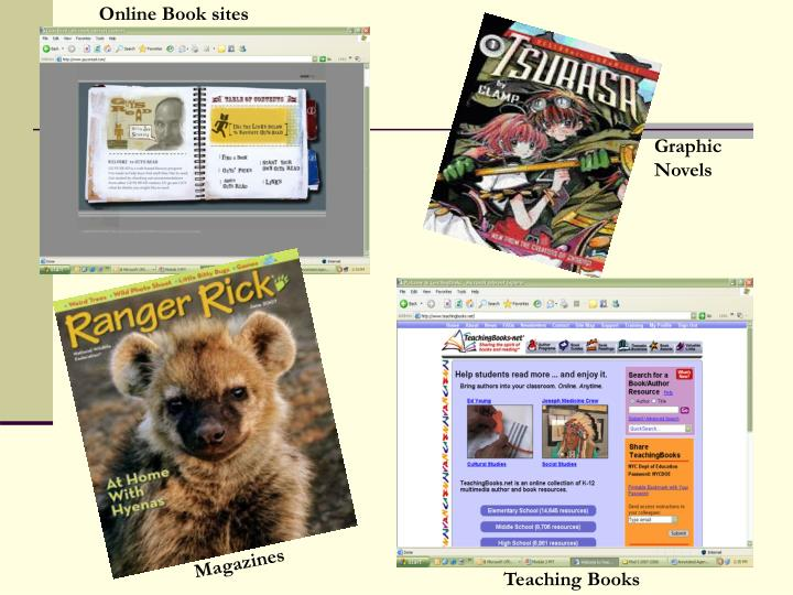 Online Book sites