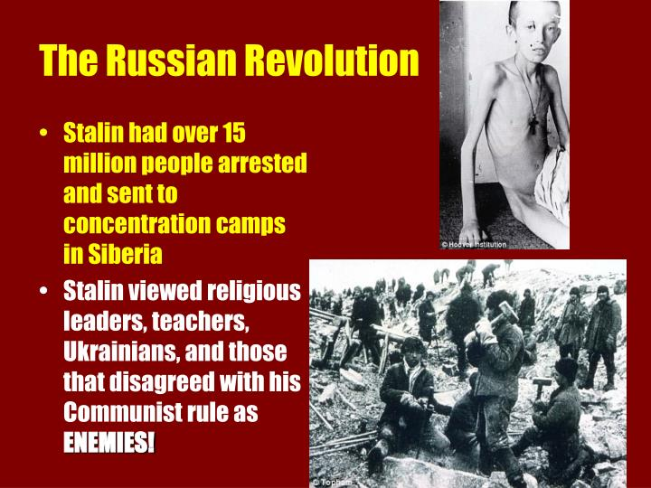 Stalin had over 15 million people arrested and sent to