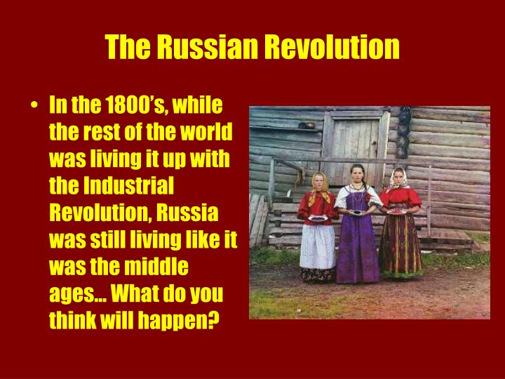 The russian revolution2