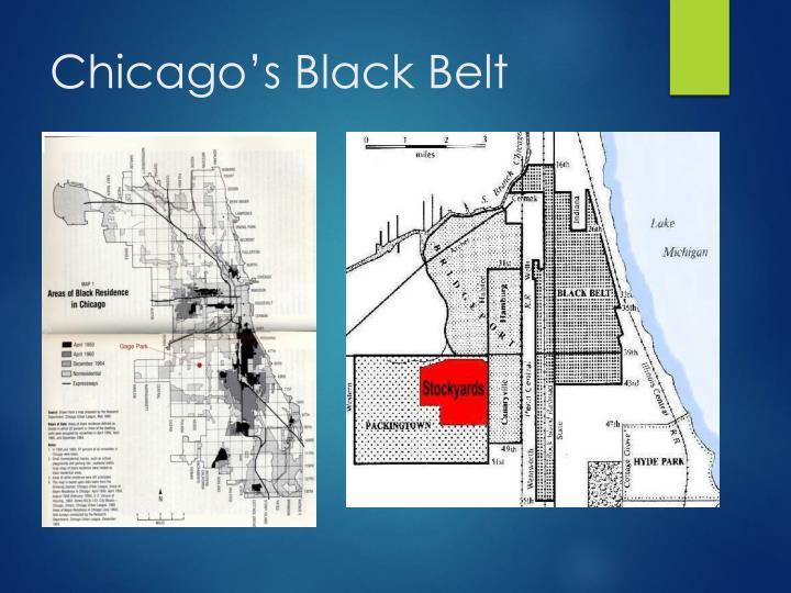 Chicago's Black Belt