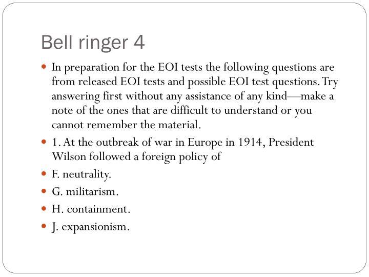 Bell ringer 4