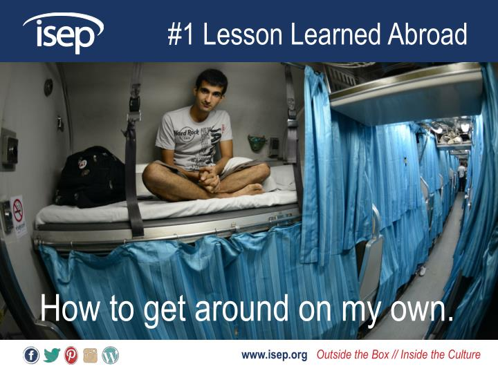 #1 Lesson Learned Abroad