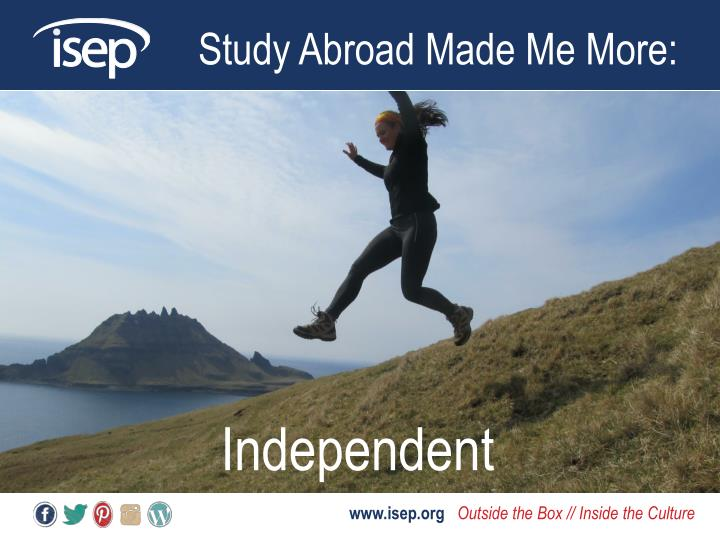 Study Abroad Made Me More: