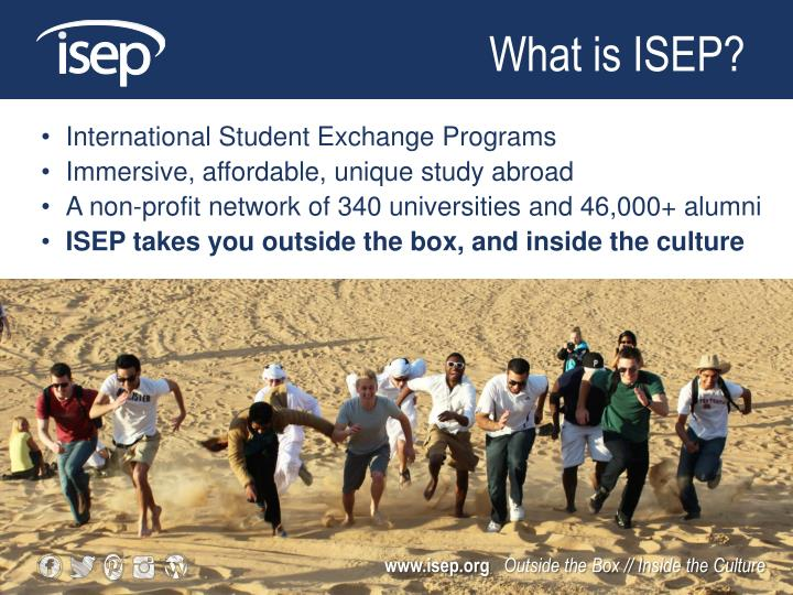 What is ISEP?