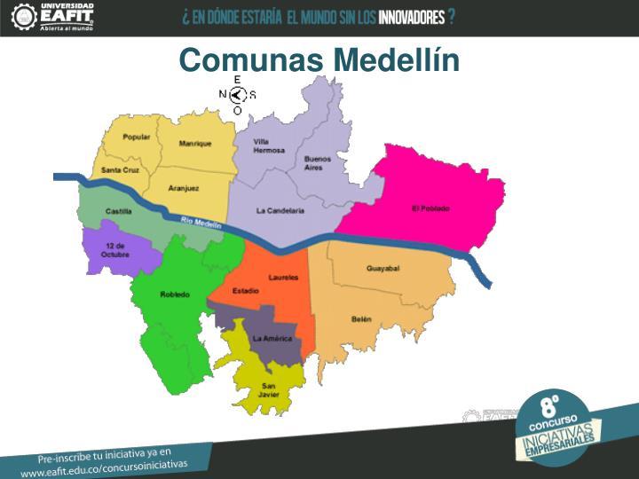 Comunas Medellín