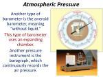 atmospheric pressure2