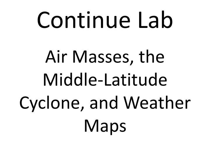Continue Lab
